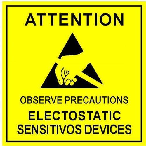 防静电标志
